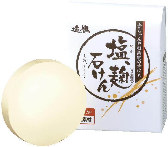 ダイム 塩の精-無添加-塩、麹石鹸
